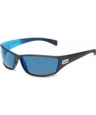 Bolle Python mate azul gb-10 polarizadas óculos de sol