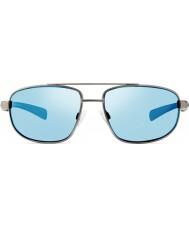 Revo Re1018 gunmetal fantasma - azuis de água óculos polarizados