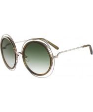 Chloe Ladies ce120s óculos Cáqui Ouro carlina
