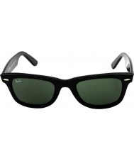 RayBan Rb2140 wayfarer original preto - verde