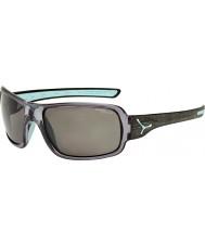 Cebe Changpa escovado cinza óculos polarizados