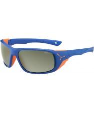 Cebe Jorasses grande mate azul laranja espelho variochrom pico de flash óculos de sol