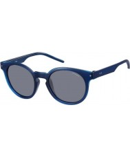 Polaroid pld2036-s homens m3q c3 azul óculos polarizados