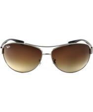 RayBan Rb3386 67 lifestyle gunmetal ativa 004-13 óculos de sol