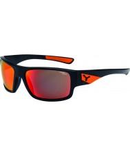 Cebe Sussurro mate óculos de sol laranja preto