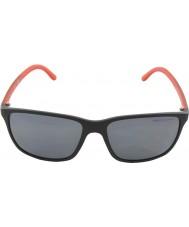 Polo Ralph Lauren Ph4092 58 preto fosco 550481 óculos polarizados
