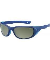 Cebe Jorasses meio matt espelho azul escuro variochrom pico de flash óculos de sol