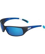 Bolle 12436 óculos de sol pretos recoil