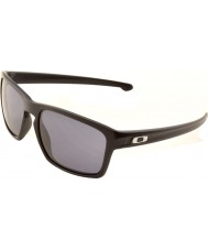 Oakley Oo9262-01 lasca preto fosco - óculos de sol cinza