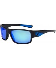 Cebe Sussurro mate óculos de sol azuis pretas