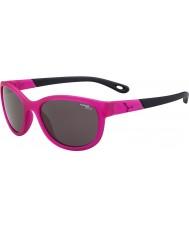Cebe Katniss (idade 7-10) matt rosa de cristal 1500 cinza óculos de sol luz azul