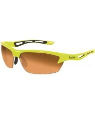 Bolle Parafuso de néon dos óculos de sol âmbar modulador amarelo