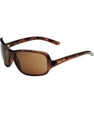 Bolle Kassia tartaruga brilhante polarizada A-14 óculos de sol