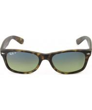 RayBan Rb2132 55 nova fosco wayfarer concha de tartaruga 894-76 óculos polarizados