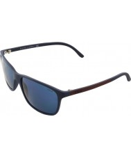 Polo Ralph Lauren Ph4092 58 azul fosco 550680 óculos de sol