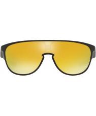 Oakley fosco trillbe Oo9318-06 preto - óculos irídio 24k