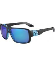 Cebe Lam Matt Black espelho 1500 do flash cinza azul óculos de sol