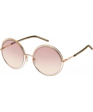 Marc Jacobs Ladies marc 11-s TXA 05 óculos de sol de ouro marrom