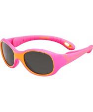 Cebe S-Kimo (idade 1-3) óculos de sol laranja fúcsia
