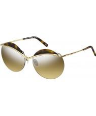 Marc Jacobs Ladies marc 102-s j5g gg ouro prata espelho óculos de sol
