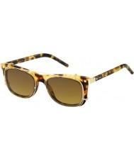 Marc Jacobs Marc 17-s ø63 vo havana óculos de sol de ouro