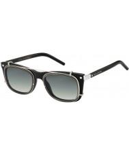 Marc Jacobs Marc 17-s Z07 ur óculos de sol negro de paládio