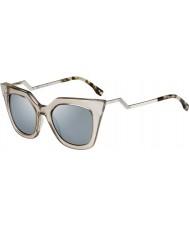Fendi Iridia ff 0060-s MSQ óculos 3U de cristal