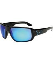 Cebe Maori brilhantes óculos de sol azuis pretas