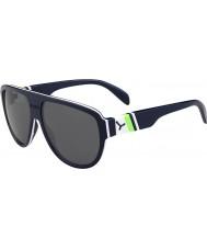 Cebe Miami azul escuro verde 1500 óculos de sol espelho de flash cinza
