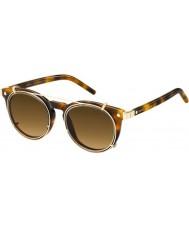 Marc Jacobs Marc 18-S u6j ZX havana óculos de sol de ouro