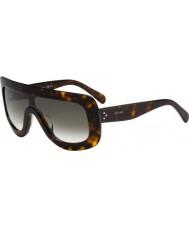 Celine Ladies cl41377 s 086 em 99 óculos de sol