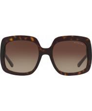 Michael Kors Mk2036 55 porto névoa de tartaruga escura 300613 óculos de sol