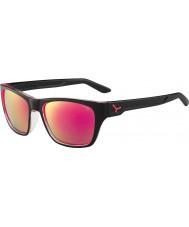 Cebe Hacker brilhantes pretas 1500 de flash cinza óculos de sol espelho rosa