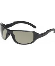 Bolle Inteligentes brilhantes pretas polarizada TNS óculos de sol