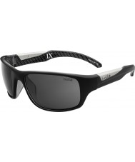 Bolle Vibe brilhantes pretas TP9 óculos polarizados TNS