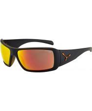 Cebe Utopia mate óculos de sol laranja preto