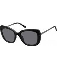 Polaroid Senhoras pld4044-s cvs y2 rutênio preto óculos polarizados