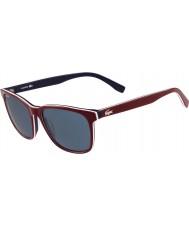 Lacoste óculos de sol vermelhos L833s