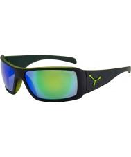 Cebe Utopia mate óculos de sol verdes pretos