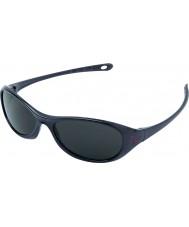 Cebe Gecko (5-7 anos) negros 2000 óculos de sol cinza brilhante
