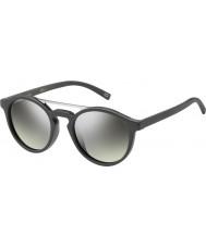 Marc Jacobs Marc 107-s drd gy cinza escuro de prata dos óculos de sol espelho