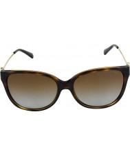 Michael Kors Mk6006 57 óculos de sol de Marraquexe 3006t5 tartaruga escuros polarizados