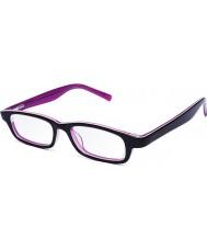 Eyejusters P1C1504PP rosa roxo óculos de leitura ajustáveis - 0.00 a 3.00 força