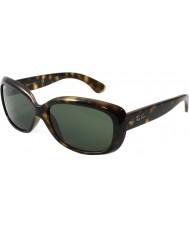 RayBan Rb4101 58 Jackie ohh luz concha de tartaruga 710 óculos de sol