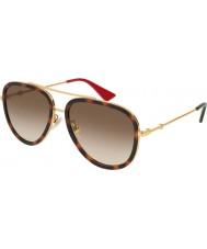 Gucci Ladies gg0062s 012 57 óculos de sol