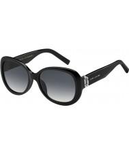 Marc Jacobs Ladies marc 111-s 807 9o óculos de sol pretos