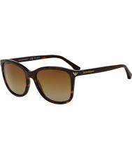 Emporio Armani Ea4060 56 essencial lazer havana 5026t5 óculos polarizados