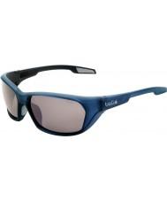 Bolle Aravis mate óculos arma azul TNS polarizada
