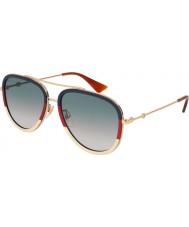 Gucci Ladies gg0062s 013 57 óculos de sol