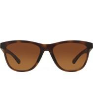 Oakley moonlighter Oo9320-04 concha de tartaruga marrom - marrom do inclinação óculos polarizados